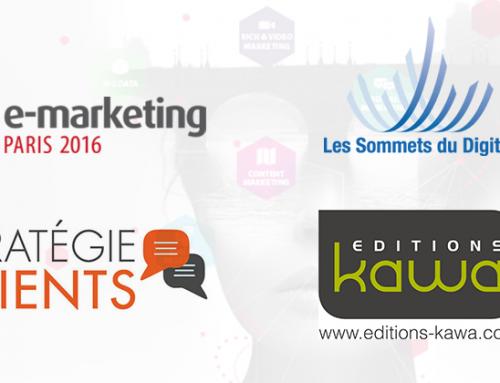 Retour sur 3 jours d'échanges pour Editions Kawa & Sommets du Digital sur le salon e-marketing Paris #EMKTP2016