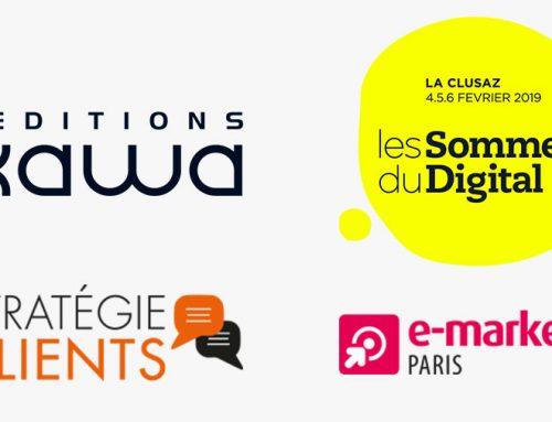 Les Editions Kawa et les Sommets du Digital seront partenaires et exposants du salon e-marketing